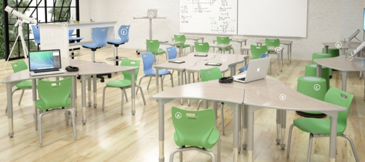 Artco Bell Classroom 1